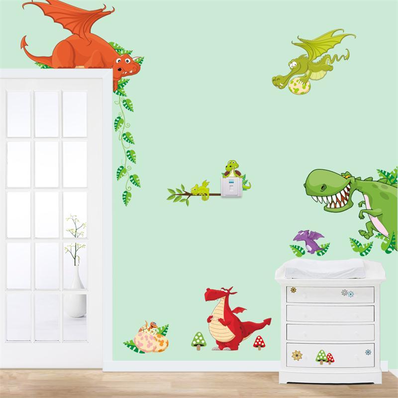 Jungle Forest Cartoon Theme Wall Sticker   Walling Shop