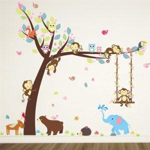Forest-Animals-Elephant-Lion-Monkey-Bear-Tree-wall-stickers-for-kids-room-Children-Wall-Decal-Nursery.jpg