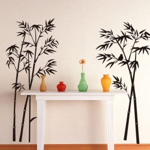Free-shipping-large-Removable-Living-room-bedroom-TV-backdrop-Black-Bamboo-Mural-Decal-Wall-Stickers-120CM.jpg