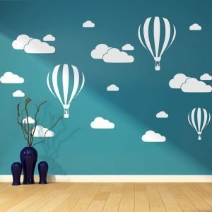 New-White-Clouds-Hot-Air-Balloon-Wall-Sticker-For-Kids-Rooms-Art-Background-Wall-Stickers-Home.jpg