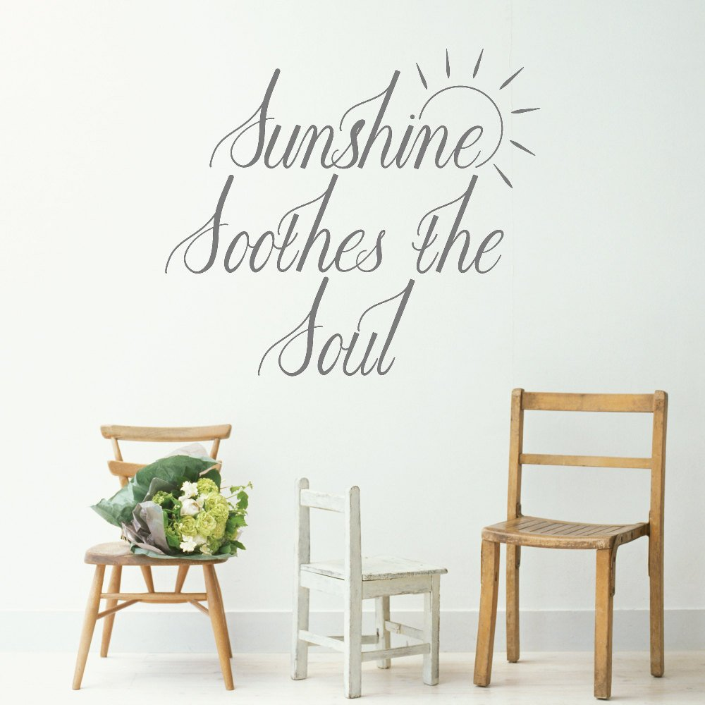 Sunshine Soothes The Soul Wall Sticker Walling Shop