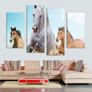 Painting-Wall-Art-Prints-Home-Decoration-Framed-4-Panel-Running-White-Horse-Fashion-Canvas-Modular-Pictures.jpg