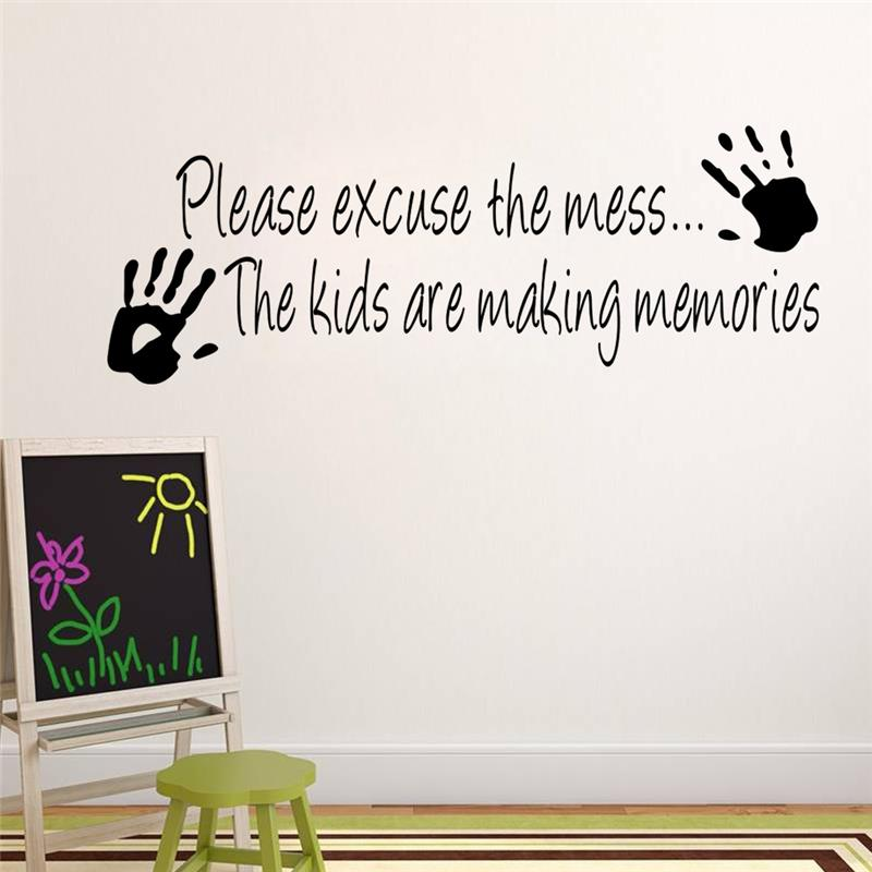 funny palms quotes wall sticker for kids | walling shop