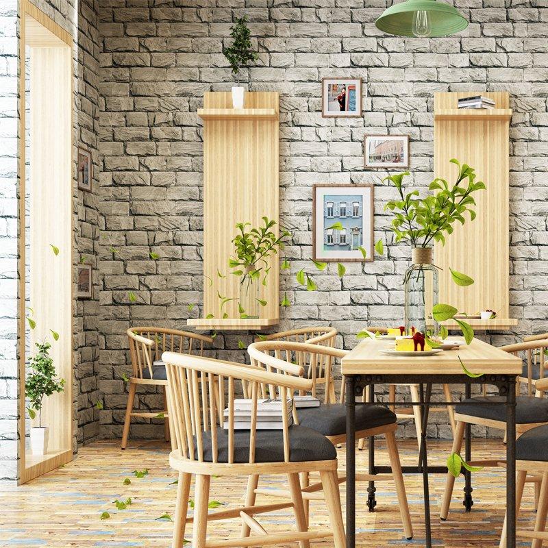 3d Vintage Brick Stone Wallpaper Roll Walling Shop