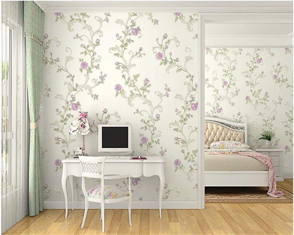 Korean Pattern Floral Design Wallpaper