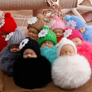 Sleeping-Baby-Doll-Keychain-Bulb-Lint-Sleep-Doll-Key-holder-Buckle-Bag-Pendant-Leather-Fur-Really.jpg