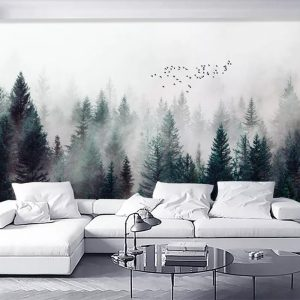 Beibehang-Custom-wallpaper-Modern-Fresh-Fog-Forest-Clouds-Flying-Bird-Nordic-TV-backdrop-3d-Living-room.jpg