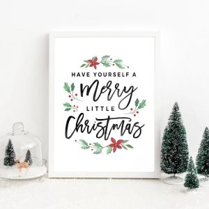 Christmas-Decorations-Merry-Christmas-Poster-Prints-Have-yourself-a-Merry-Little-Christmas-Quote-Canvas-Painting-Wall-1.jpg
