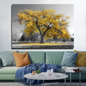 SELFLESSLY-Yellow-Tree-Black-And-White-Pictures-Modern-Landscape-Painting-For-Living-Room-Decoration-Canvas-Posters-2.jpg