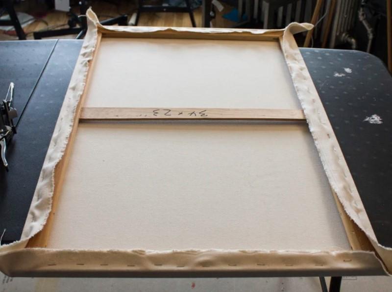 Framing a canvas art