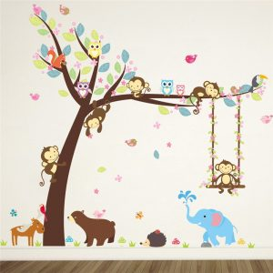 Forest-Animals-Elephant-Lion-Monkey-Bear-Tree-wall-stickers-for-kids-room-Children-Wall-Decal-Nursery.jpg