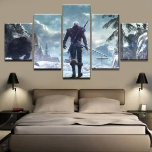 Modern-Canvas-Art-Painting-For-Living-Room-Print-Wall-Picture-5-Panel-4Geralt-of-Rivia-The-4.jpg