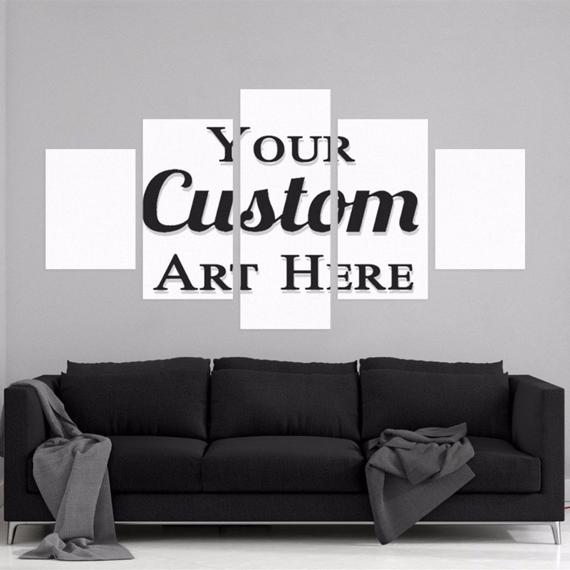 Customise Photo - 5 Panel Canvas Board | Walling Shop