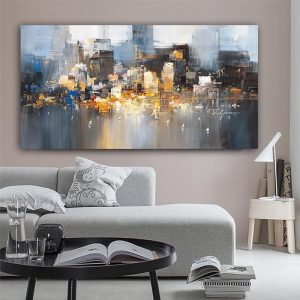 City-Building-Rain-Boat-Poster-Scenery-Pictures-Room-Decoration-Abstract-Oil-Painting-On-Canvas-Wall-Art.jpg