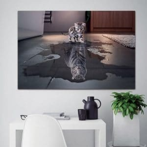 Newest-Island-1-Panel-Decorations-Modern-Canvas-Prints-Artwork-Cat-and-Tiger-Pictures-Paintings-Canvas-Wall.jpg
